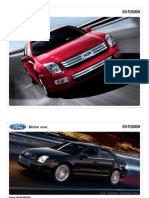 2009 Ford Fusion Brochure from Miller Ford