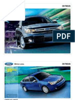 2009 Ford Focus Brochure from Miller Ford