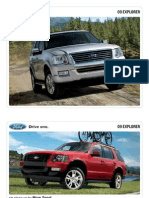 2009 Ford Explorer Brochure from Miller Ford