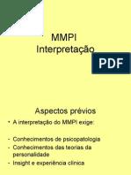 Instrumentos de Avaliação Psicológica II - acetatos - aula Intrpretação MMPI