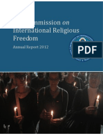 Annual Report of USCIRF 2012(2)