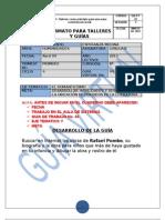 FORMATO PARA TALLERES Y GUÍAS No. 04 grado 801