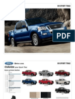 2009 Ford Explorer Sport Trac Brochure from Miller Ford