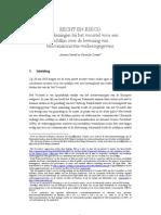 Recht en Risico - Richtlijn Over de Bewaring Van Telecommunicatie-Verkeersgegevens