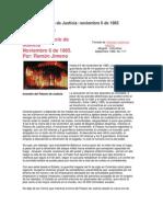 Toma Del Palacio de Justicia Revista Credemcial