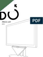Price List 2012.3