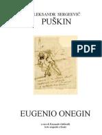 Aleksandr Pushkin-Eugenio Onegin