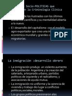 Condiciones Socio-POLITICAS Que Cosolidaron La Criminologia Clinica