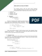 4. Percabangan Pada Python