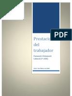 Prestaciones Del Trabajador-Pellicer,Toni