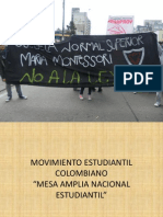 Movimiento Estudiantil Colombiano