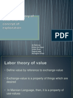 The Labor Theory of Value and the Concept