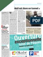 "Diby Magassa ""Le Mali est dans un tunnel"""