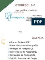 Presentacion de PostgreSQL
