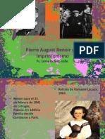 Pierre August Renoir. Ps. Jaime Botello Valle.