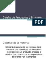 001 Diseño de Productos y Procesos Intro