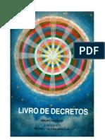 000 - RARIDADE - LIVRO DE DECRETOS - Grupo Avatar - Edição 1996