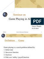 Game Playing in AI