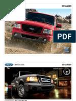2009 Ford Ranger Brochure from Miller Ford
