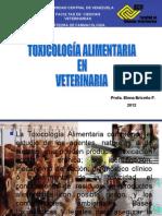 TOXICOLOG+ìA ALIMENTARIA EN