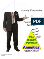 Annuity Prospecting and Annuity Selling Seminars