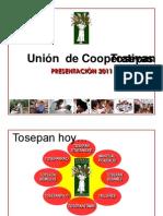 PRESENTACIÓN TOSEPAN =2011