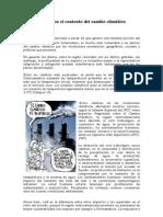 Centroamérica en el contexto del cambio climático