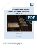 FlexPod Demo Script
