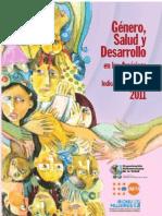 Indicadores Genero Salud y Desarrollo 2011