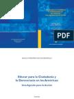 Educar Para La Ciudadania y Las Americas en Democracia