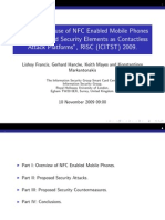 Potential Misuse of NFC Enabled Mobile Phones