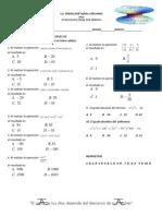 Evaluacion de Matematica Jose Ignacio