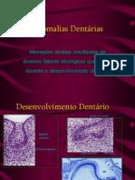 Anomalias Dentárias