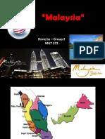 Malaysia 372- Presentation