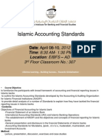 Islamic Accounting Standards