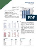 Derivatives Report 9th April 2012
