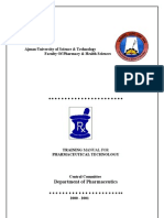 Pharmaceutical Technology Training Manual-2f