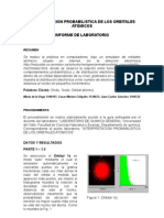Informe Orbitales Lab Quimica General