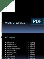 GEOFISIKA KELOMPOK 8. MAGNETOTELLURIC