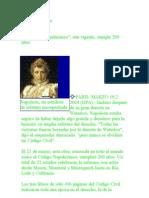 codigo napoleonico