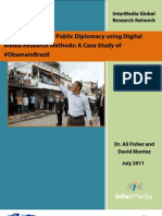 InterMedia_ObamainBrazil and New Media Research_Fisher and Montez