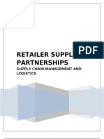 Retailer Supplier Partnerships
