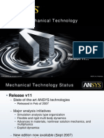 Ansys Mech Technology v11