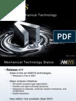 Ansys Mech Technology v11