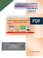 Buku Panduan Aplikasi Pembukuan Bendahara RS B.5