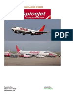 Vikash Marketing Plans of Spicejet