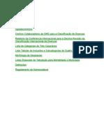 Código Internacional De Doenças Cid10