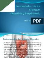 Enfermedades de los Sistemas Digestivo y Respiratorio