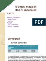 Ppt Analisis Situasi Masalah Kesehatan Di Kabupaten Barru