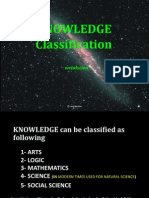 Knowledge Divisions